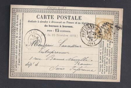 Carte précurseur Boulogne sur Mer