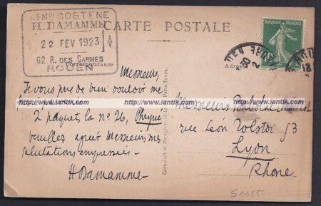 14 juillet 1919 défilé italiens à Paris verso